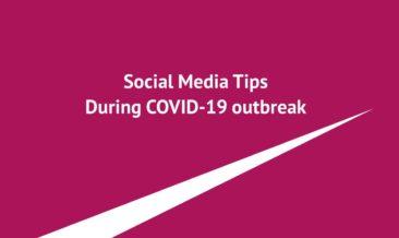 social media tips during COVID-19