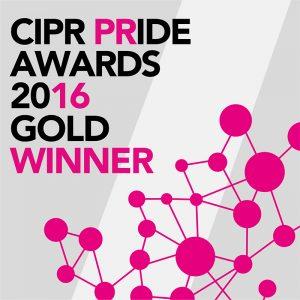 CIPR Gold Award 2016 - Consumer PR Campaign