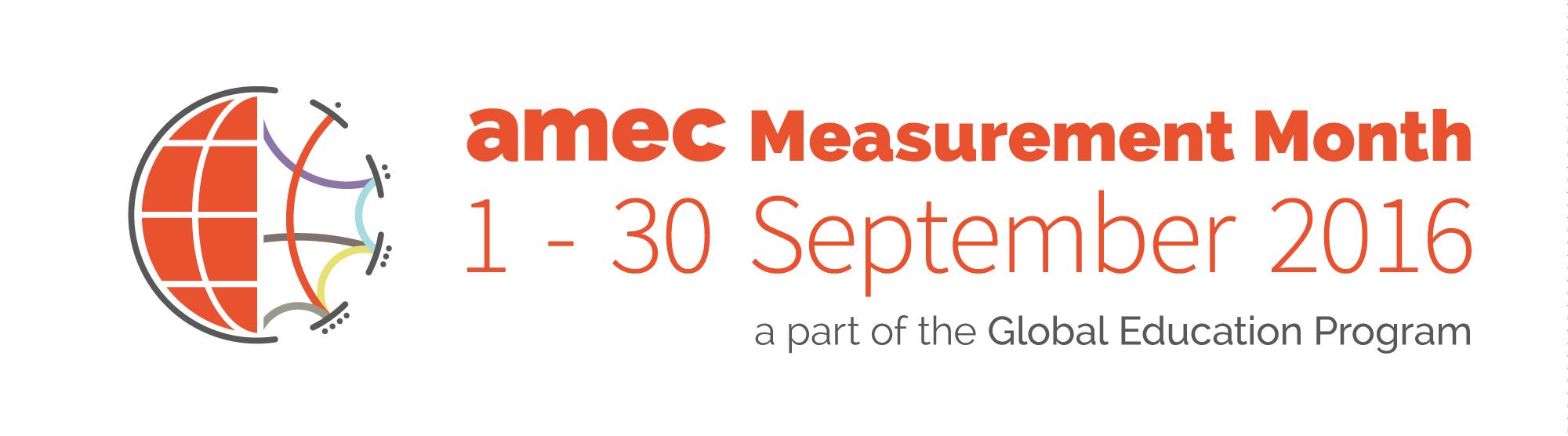 AMEC Measurement Month
