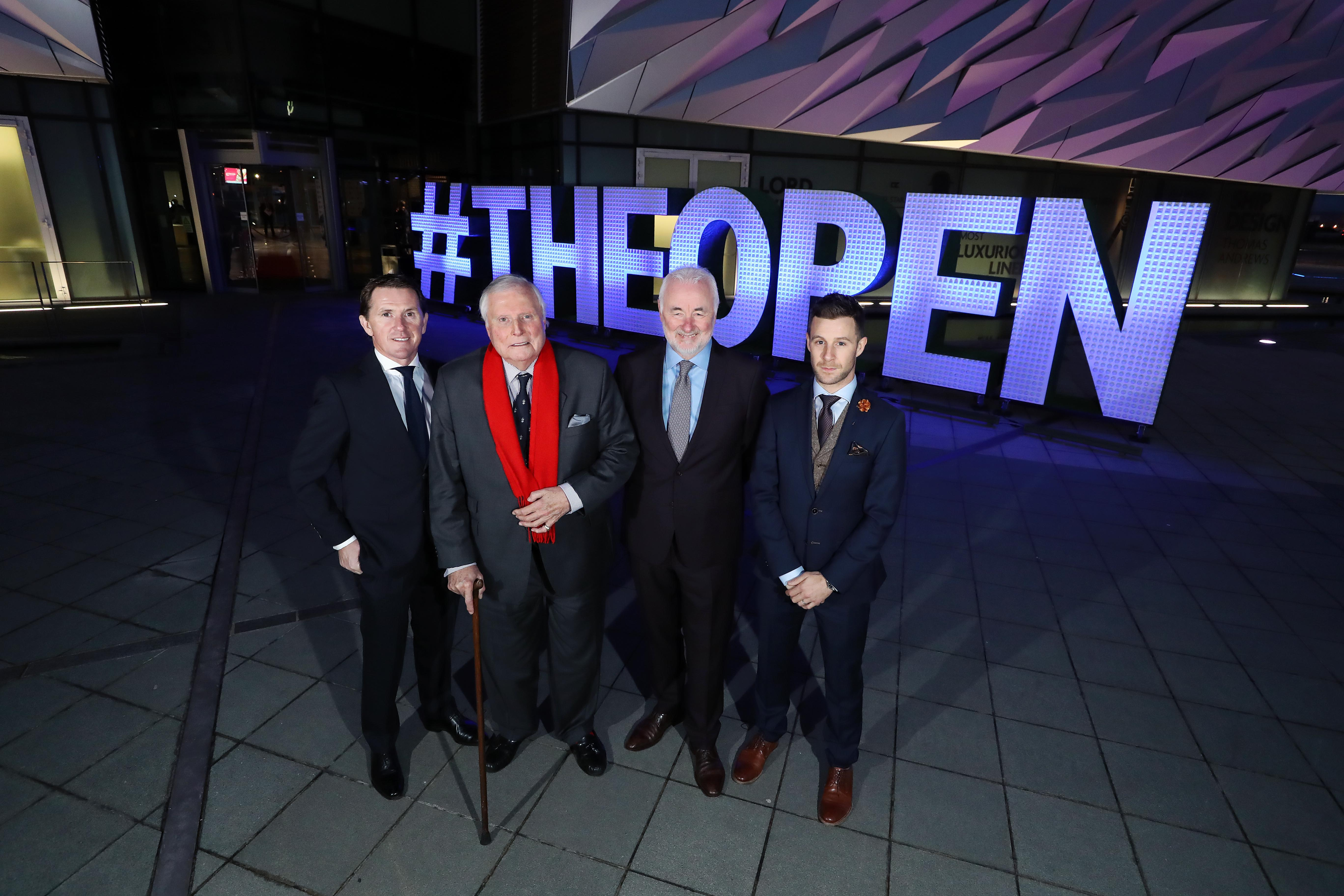 Tourism NI Launch of The Open