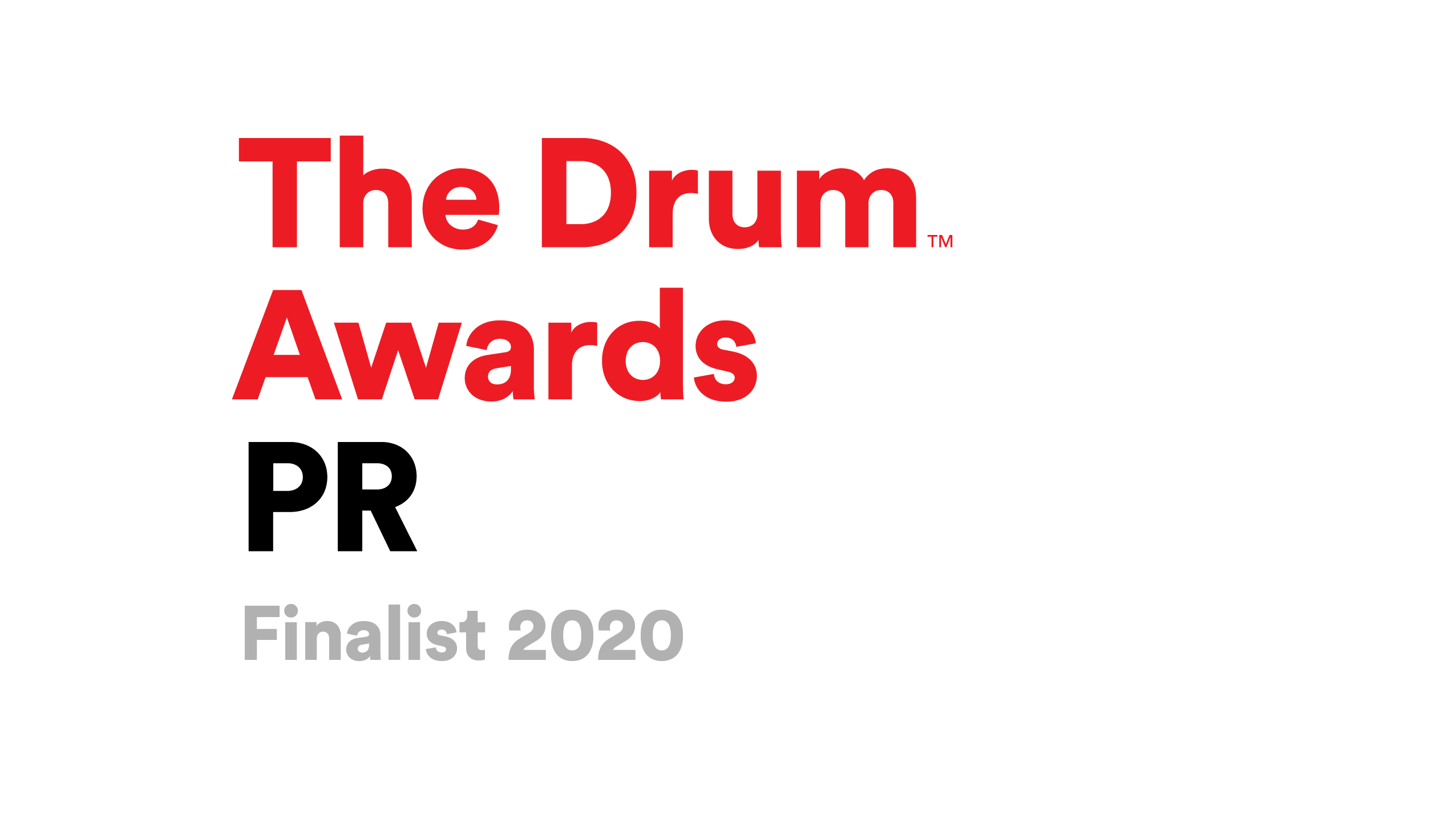 The Drum Awards for PR